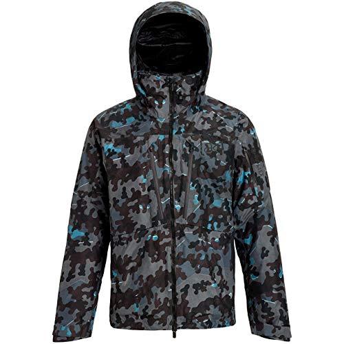Burton Herren Ski- Snowboardjacke M AK Gore LZ DWN JK, Größe:M, Farben:Slate Shelter camo