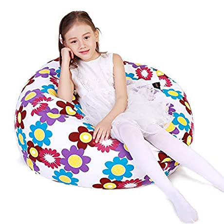 55% off Stuffed Animal Storage Bean Bag Chair Cover