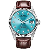 Best BUREI Automatic Watches - BUREI Men's Luxury Automatic Watch Date Display Review
