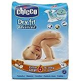 Chicco Dry Fit - 6 pannolini da 16 - 30 kg, misura 6