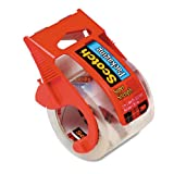 Scotch Heavy Duty Shipping Packaging Tape with Dispenser , Pack Of 2...