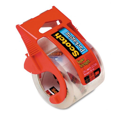 Scotch Heavy Duty Shipping Packaging Tape with Dispenser , Pack Of 2 Louisiana