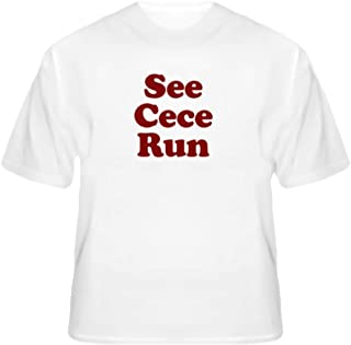 See Cece Run New Girl Funny Running T Shirt T Shirt