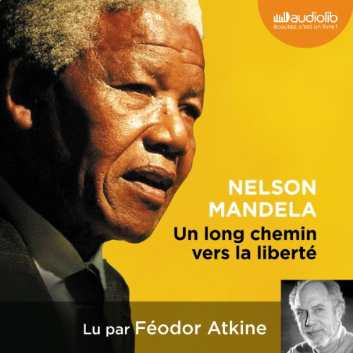 Un long chemin vers la liberté audiobook cover art
