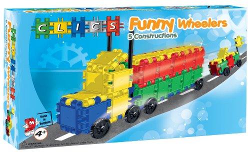 Clics CA016 - Funny Wheelers Box 5 in 1
