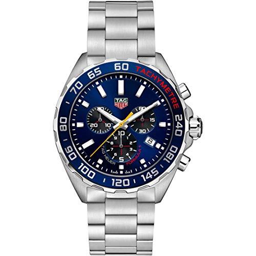 Tag Heurer Formula 1 Edizione Speciale Aston Martin Red Bull 43mm cronografo BLU quarzo Acciaio