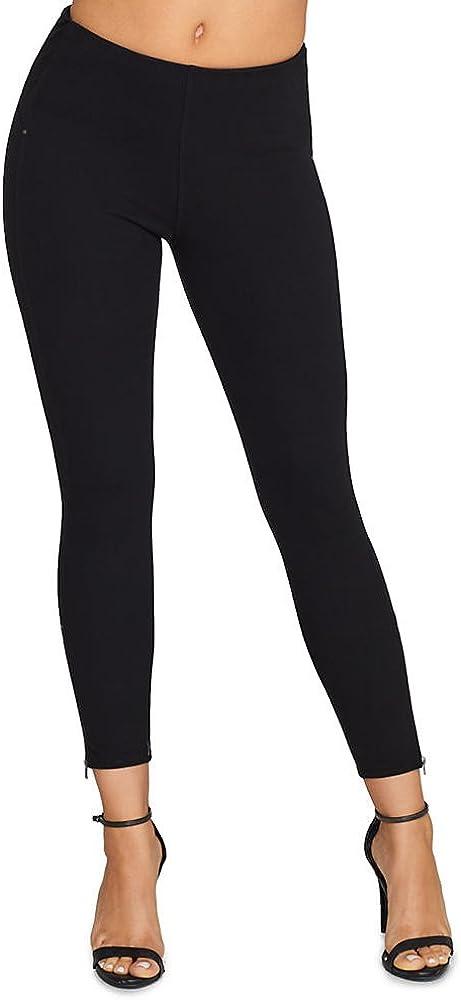 Lysse Medium Control Stretch Denim Leggings, S, Black