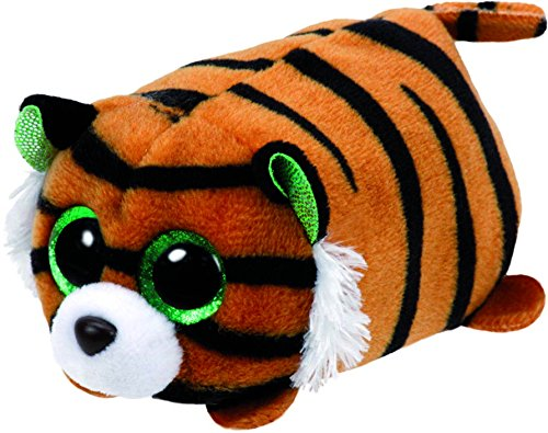 TY Glubschis - Tiggy Tiger, braun gestreift - Teeny Tys - 10 cm