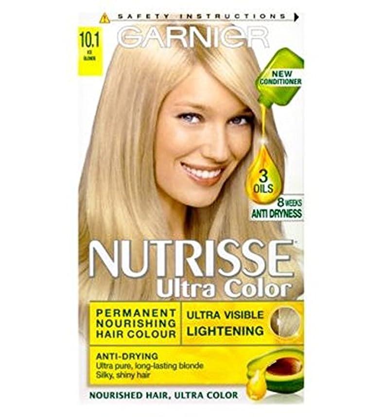 海外で目指すできるGarnier Nutrisse Ultra Permanent Colour 10.1 Ice Blonde - ガルニエNutrisse超永久色10.1氷のブロンド (Garnier) [並行輸入品]