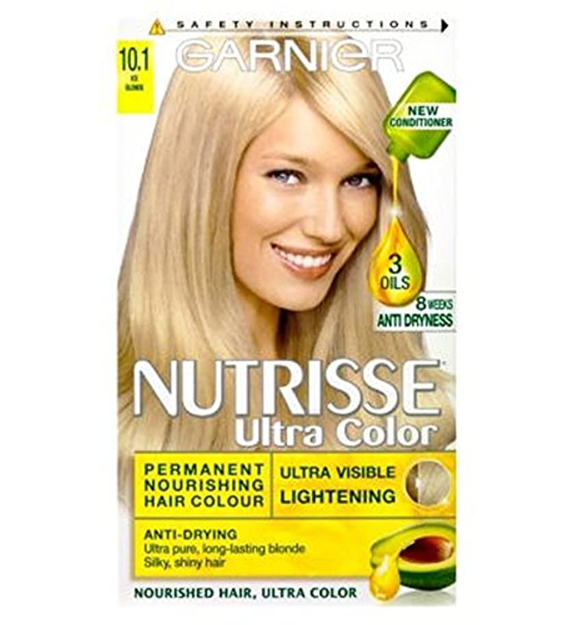 急勾配の今まで接続ガルニエNutrisse超永久色10.1氷のブロンド (Garnier) (x2) - Garnier Nutrisse Ultra Permanent Colour 10.1 Ice Blonde (Pack of 2) [並行輸入品]