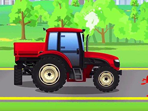 Freundlicher Traktor