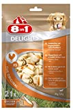 8in1 Delights Chicken Kauknochen XS, gesunder Kausnack für sehr kleine Hunde, 21 Stück (252 g)