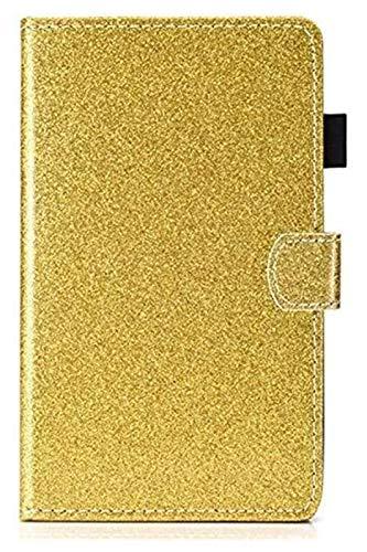 LCM Accesorios De Pestañas para Huawei T3 7.0', WiFi Glitter Bling Cubierta De Cuero Casos De La Tableta para Huawei Mediéspad T3 7.0 Pulgadas WiFi BG2-W09 (Color : F)