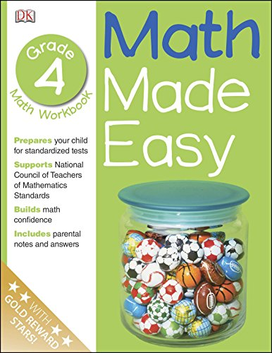 Math Made Easy: Fourth Grade Workbook