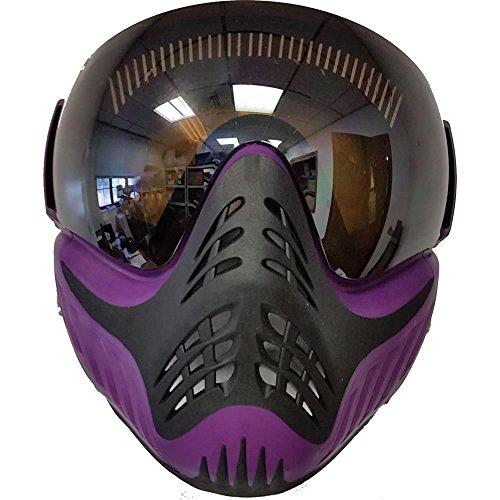 VForce Profiler Paintball Maske, lila, Purple on Black