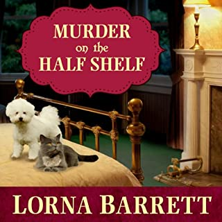 Murder on the Half Shelf audiobook cover art
