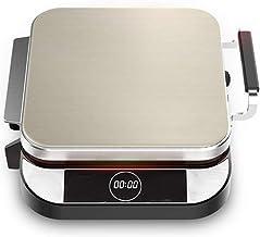 QinWenYan Machines à Cupcakes Électrique de Cuisson Pan Amovible et Lavable Double Face Chauffage Ménage Approfondir Fryer...