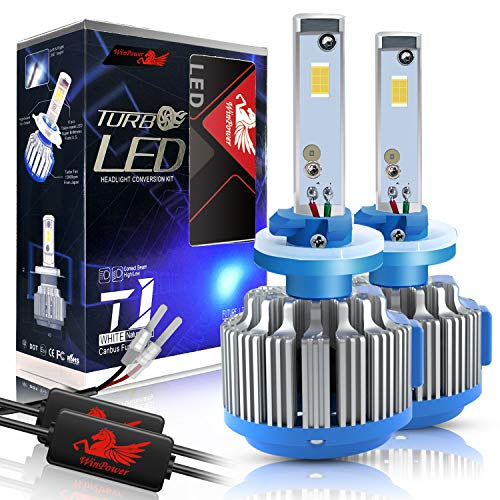 Win Power 880/881 LED Fog Light Bulbs Conversion Kit 6000k Cool White 7200 Lumens Cree Headlight Bulb Replacement+ Canbus(1 Pair)-2 Year Warranty