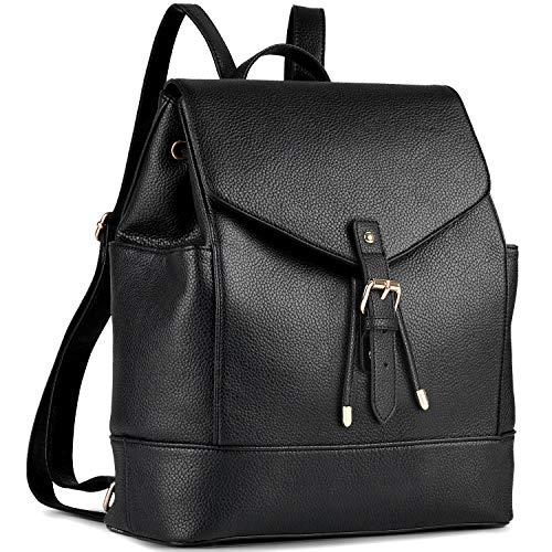 Damen Rucksack, Coofit Leder Rucksack Elegant Rucksack Damen PU Rucksack für Mädchen...