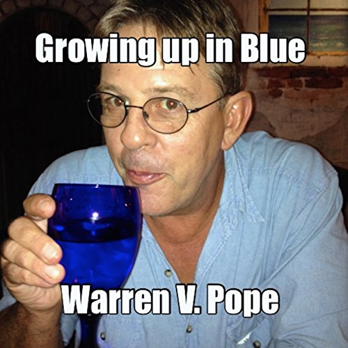 Growing up in Blue audiobook cover art