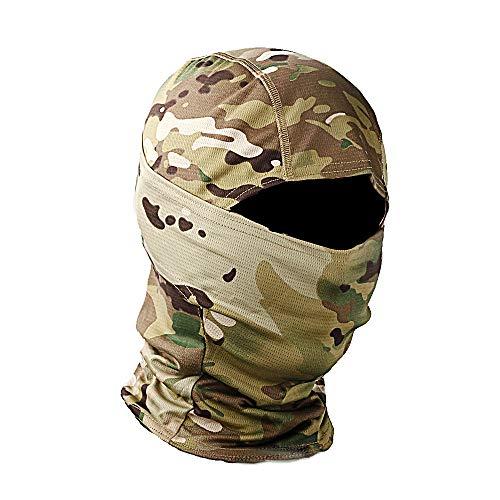 Military Camo Face Mask Bandana Balaclava Hood Headwear for...