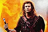WOAIC Braveheart Poster for Bar Cafe Home Decor Painting