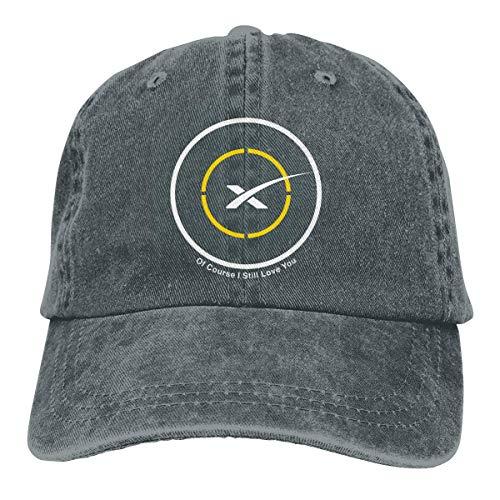 Jinmushi Unisex Baseball Caps/Trucker Cap Spacex of Course I Love You Baseball Cap Dad Hat Adjustable Cap Unstructured Hat Trucker Caps Deep Heather