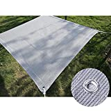 YJSMB Toldo Sombra, Malla Sombra Tamaño Personalizable Protección UV Malla Ligera con Ojal para Gazebo, Huerta (Size : 1x1m/3.3x3.3ft)