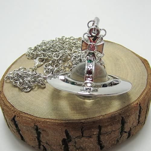 MIKUAJ collarCollar Largo de Perlas de Vidrio tridimensionales de Titanio Negro Americana