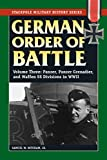 German Order of Battle: Panzer, Panzer Grenadier, and Waffen SS Divisions in WWII (Stackpole Military History Series Book 3) (English Edition)