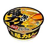マルちゃん 黒い豚カレーうどん 87g×12個入り (1ケース)