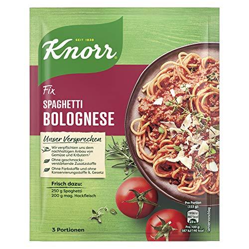 Knorr Fix Spaghetti Bolognese für Pasta ohne Farbstoffe 38 g