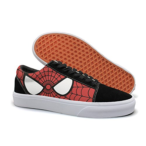 Designsonic Spiderweb Cobweb Woman Skate Shoe Athletic Trainers Low Top