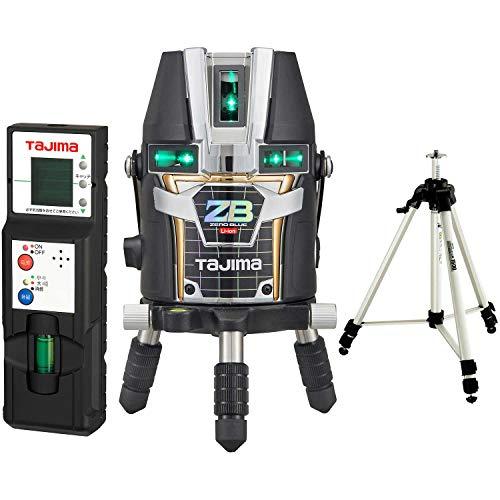 タジマ(Tajima) レーザー墨出し器 KJC矩十字&横全周 ゼロブルーリチウム ZEROBL-KJCSET 受光器・三脚セット