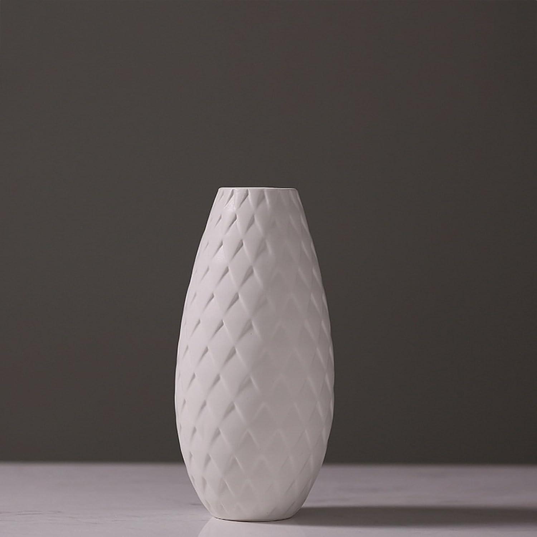 Vases LXF en Céramique Créatif en Céramique en Porcelaine Simple Salon en Céramique (Taille   B)