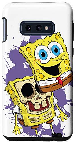 Galaxy S10e Cool skull candy SpongeBob SquarePants Case