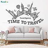 ASFGA Agencia de Viajes salón Verano Vacaciones Aventura Viaje Etiqueta de la...