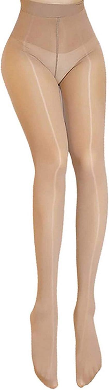 Super Shiny 8 Denier Sheer Tights Seamless Semi Opaque Pantyhose Control Top Pantyhose For Women