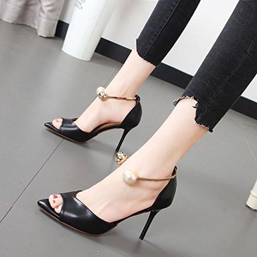 Xue Qiqi chaussures à haut talon avec fines fentes permettant de wild femmes chaussures sandales