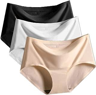 シームレスショーツ レディース パンツ 下着 肌に優しい パンティ 無縫製 レギュラー 通気性【4枚セット/3枚セット】