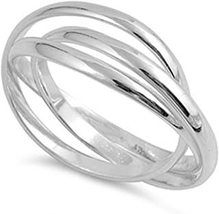 triple band rolling ring