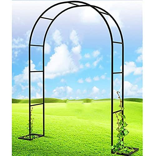 Lidengdeng Arco De Rosas Trepadoras, Metal Garden Arch, Arco para Enredaderas, Garden Archway Enrejado De Acero, Arco Decorativo para Rosales Y Plantas Trepadoras
