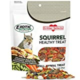 Squirrel Treat (3 oz.) - Healthy Natural Nut & Vegetable Treat - Walnuts, Almonds, Pistachios, Pumpkin Seeds, Dried Carrots - Flying Squirrels, Ground Squirrels, Tree Squirrels & Other Rodents