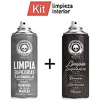 Motorrevive - Kit Limpia Tapicerías + Limpia Salpicaderos Coche