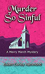 Murder So Sinful by Eileen Curley Hammond book cover