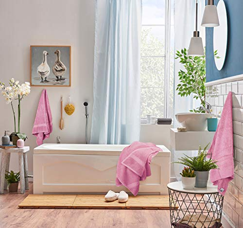 Utopia Towels Towel Set, 2 Bath Towels, 2 Hand Towels, and 4 Washcloths, 600 GSM Ring Spun Cotton Highly Absorbent Towels for Bathroom