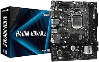ASROCK H410M-HDV/M.2 Supports 10th Gen Intel Core Processors (Socket 1200) Motherboard