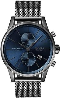 ساعة هوغو بوس للرجال كرونوغراف كوارتز بسوار ستانلس ستيل 1513677