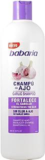 Babaria Champú de Ajo Fortalecedor - 600 +100ml