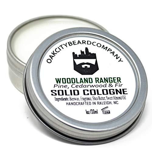 OakCityBeardCo. - Woodland Ranger - Men's Solid Cologne - 1oz - Fall & Winter Collection